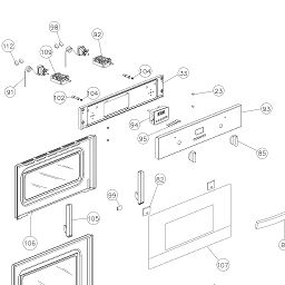 Door & Control Panel Assembly